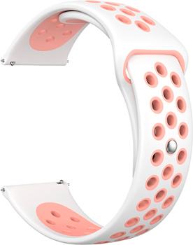 цена на Ремешок для часов Lyambda универсальный для часов 20 mm ALIOTH DS-GS-03-20-PK White/Pink