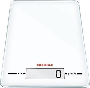 Кухонные весы Soehnle PAGE EVOLUTION White весы soehnle page compact 100 black 61500