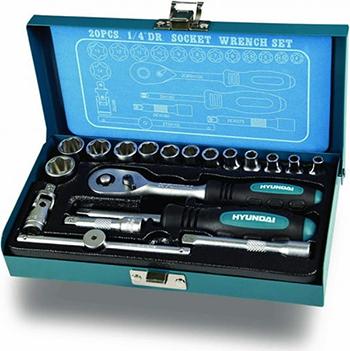 Универсальный набор инструмента Hyundai K 20 (20 предметов)