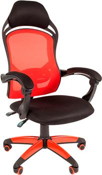 Кресло Chairman game 12 черн.красный 00-07016632