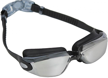 Фото - Очки для плавания Bradex серия ''Комфорт '' черные цвет линзы - зеркальный SF 0390 карр дж черные очки