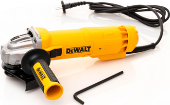Угловая шлифовальная машина (болгарка) DeWalt DWE4205-KS 1010Вт цены онлайн