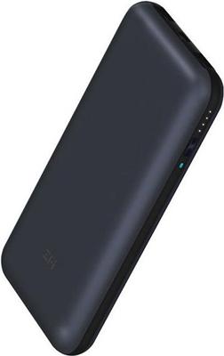 Внешний аккумулятор Xiaomi Power Bank ZMI 10 (QB820 Black) 20000mAh Type-C Quick Charge 3.0 Delivery 2.0 (черный)