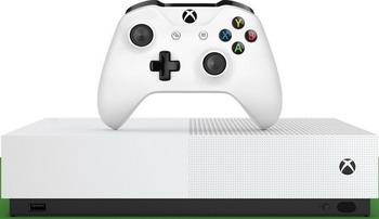 Стационарная приставка Microsoft Xbox One S 1 ТБ All Digital и игры SOT Minecraft Fortnite