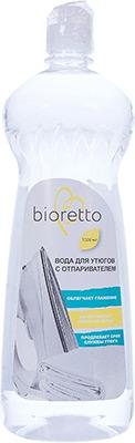 Фото - Вода бидистиллированная Bioretto 1 0л Bio - 701 для утюгов подошва тефлоновая lelit pa 205 1 для всех утюгов lelit