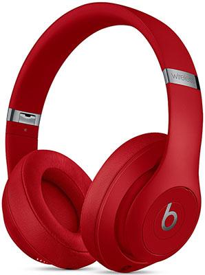 Фото - Беспроводные мониторные наушники Beats Studio3 Wireless Over‑ Ear Headphones - Red MX412EE/A наушники beats powerbeats high performance белый