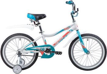 цена на Велосипед Novatrack 18'' NOVARA алюм. белый 185ANOVARA.WT9