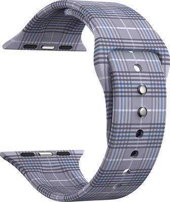 Силиконовый ремешок Lyambda для Apple Watch 38/40 mm URBAN DSJ-10-207A-40 gray plaid ремешок для часов lyambda для apple watch 38 40 mm urban dsj 10 72a 40