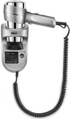 Настенный фен с держателем и розеткой для электробритвы Valera Action 1600 Shaver Silver 542.06/032.05