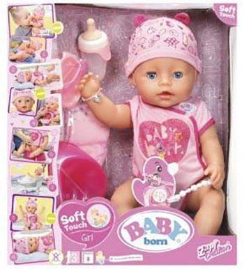 Кукла Zapf Creation BABY born Интерактивная 43 см кор. 825-938