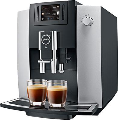 Кофемашина автоматическая Jura E6 (15058)