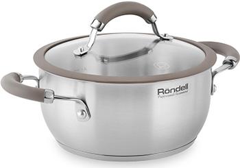 Кастрюля Rondell RDS-755 Balance кастрюля rondell rds 719 22 см 5 8 л нержавеющая сталь