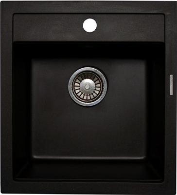 Кухонная мойка LAVA Q.1 (BASALT чёрный) кухонная мойка lava q 1 basalt чёрный