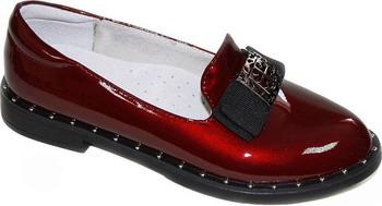 Туфли Leopard Kids 868-11623 38 размер цвет бордовый туфли для девочки зебра цвет бордовый 13152 7 размер 35