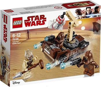 Конструктор Lego Star wars Боевой набор планеты Татуин 75198 конструктор lego star wars 75132 боевой набор первого ордена