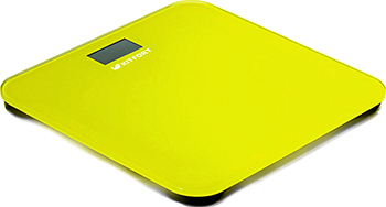 все цены на Весы напольные Kitfort КТ-804-4 желтые онлайн