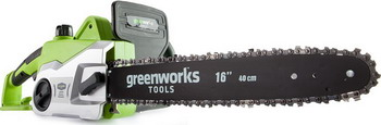 Фото - Цепная пила Greenworks GCS 1840 20027 аккумулятор greenworks g80b4 2901307