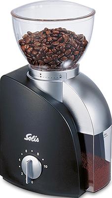 купить Кофемолка Solis Scala Coffee grinder black по цене 10999 рублей