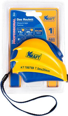 купить Рулетка Kraft 7 5м х 25мм KT 700759 недорого