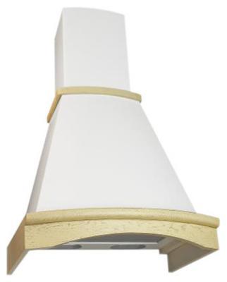 Вытяжка ELIKOR Ротонда 60П-650-П3Л КВ II М-650-60-82 бежевый/дуб белый патина срб цена и фото