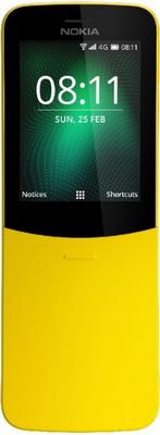 Мобильный телефон Nokia 8110 4G Dual Sim желтый цена 2017