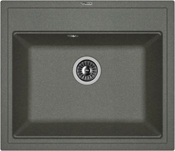 Кухонная мойка Florentina, Липси-600 600х510 черный FG, Россия  - купить со скидкой