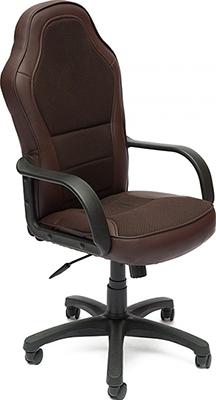 Компьютерное кресло Tetchair KAPPA (кож/зам/ткань коричневый 36-36/08) кресло компьютерное tetchair энзо enzo доступные цвета обивки искусств чёрная кожа синяя сетка