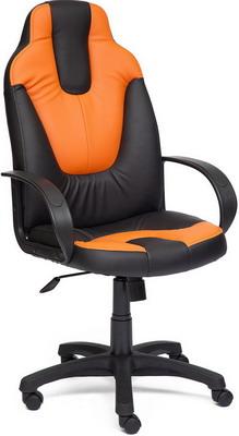 Кресло Tetchair NEO (1) (кож/зам черный/оранжевый 36-6/14-43)