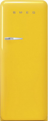 Однокамерный холодильник Smeg FAB 28 RYW3 smeg fab 28 lv