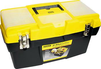 Ящик для инструмента Stanley ''Mega Cantilever'' 19'' с 2-мя съемными органайзерами 1-92-911 fit с тремя органайзерами