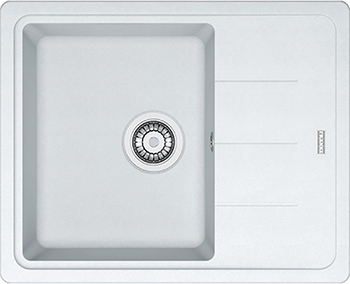 Кухонная мойка FRANKE BFG 611 C 3 5'' ст-вент белый