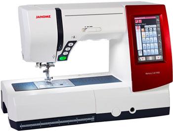 Швейно-вышивальная машина Janome MC 9900 вышивальная машина bernina deco 340