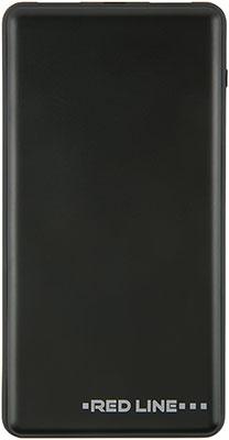 Внешний аккумулятор Red Line Tech PDP-3А (10000 mAh) 3А Power Delivery 2USB и Type-C черный