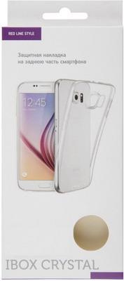 Чехол (клип-кейс) Red Line iBox Crystal для Samsung Galaxy S10 Lite (прозрачный)
