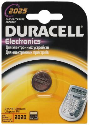 Батарейка Duracell CR 2025 цена