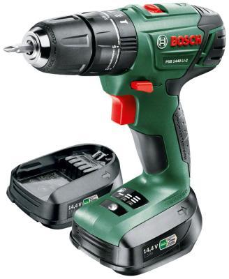 цена на Дрель-шуруповерт Bosch PSB 1440 LI-2 (0.603.9A3.221)
