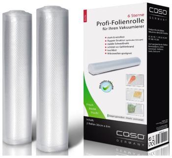 Рулоны для вакуумной упаковки CASO VC 30*600