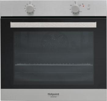 Встраиваемый газовый духовой шкаф Hotpoint-Ariston GA3 124 IX HA hotpoint ariston mp 775 ix ha silver электрический духовой шкаф встраиваемый