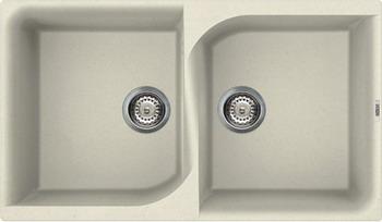 Кухонная мойка Elleci EGO 450 granitek (62) Bianco Antico LGE 45062 кухонный смеситель elleci sava granitek 62 bianco antico mgksav 62