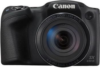 Цифровой фотоаппарат Canon PowerShot SX 430 IS черный все цены