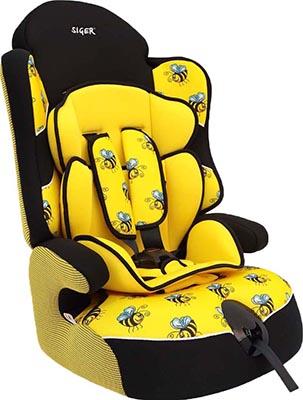 цена на Автокресло Siger Драйв ART пчелки 9-36 кг