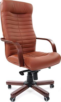 Офисное кресло Chairman 480 WD экопремиум 111 коричневый