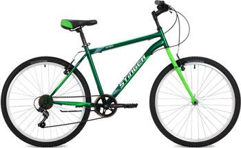 Велосипед Stinger 26'' Defender 18'' зеленый 26 SHV.DEFEND.18 GN8 велосипед stinger 26 versus 18 оранжевый 26 sfv versu 18 or5