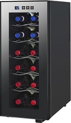 все цены на Винный шкаф Cavanova CV 012 M черный онлайн