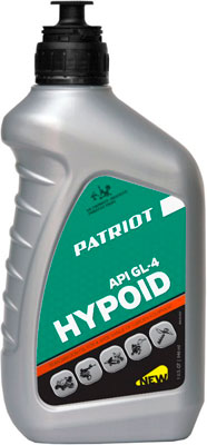 Фото - Масло Patriot HYPOID API GL-4 80 W 85 0 946 л 850030727 масло полусинт patriot super active 2t 0 946 л