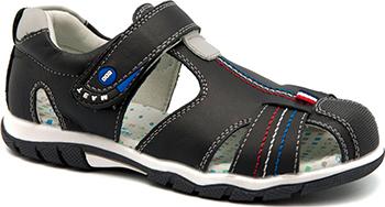 Туфли открытые Счастливый ребенок А1006-0 35 размер цвет черный фото