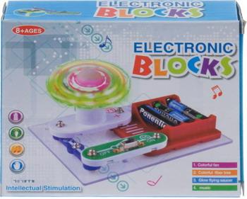 Электронный конструктор Electronic Blocks Оптоволоконная разноцветная лампа YJ 188171446 1CSC 20003425 электронный конструктор electronic blocks проектор yj 188171447 1csc 20003433