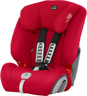 Автокресло Britax Roemer Evolva 123 Plus Fire Red Trendline 2000030821 britax römer автокресло britax romer versafix 9 18 кг steel grey