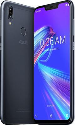Смартфон ASUS ZenFone M2 Max ZB633KL (90AX01A2-M00080) черный смартфон asus zenfone max m2 zb633kl 4d009ru blue 6 3 hd 19 9 notch sd632 4gb 64gb and 8 1 13mp 2 8mp 4000mah