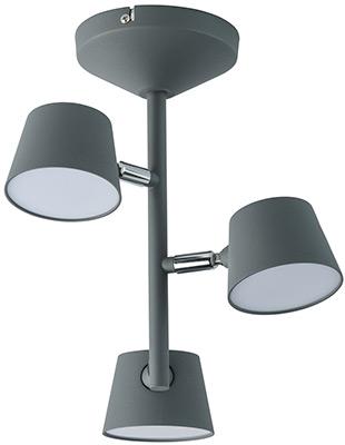 купить Люстра потолочная DeMarkt Хартвиг 717011003 75*0 2W LED 220 V по цене 8440 рублей